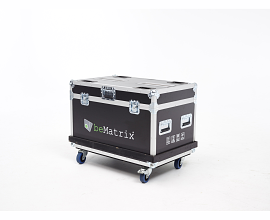 LEDSKIN FLIGHTCASE 8x + CABLE COMPARTMENT (2m²)