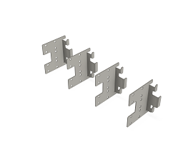 f31 UNIVERSELE  CONNECTOR GALVA [SET VAN 4ST]