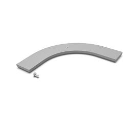 b55 COVER FOR CURVED FRAME 588 0248 ++++ RAL