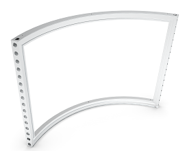 b55 CURVED FRAME 90° [R0988.5] [H=++++MM] ECO