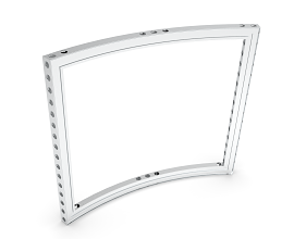 b55 CURVED FRAME 45° [R1484.5] [H=++++MM] ECO