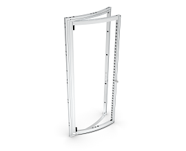 b62 CURVED PIVOT DOOR [H=++++] [R1488] LEFT ECO