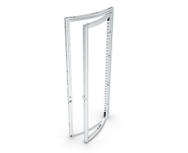 b62 CURVED PIVOT DOOR [H=++++] [R1488] RIGHT ECO