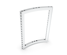 b62 CURVED FRAME 45° [R0992] [H=++++MM] ECO