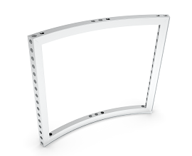 b62 CURVED FRAME 45° [R1488] [H=++++MM] ECO