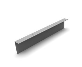 L PLINTH PROFILE [0496MM] RAL