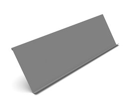 60° SHELF [0985MM] RAL 9006 TEC - 62/55 MM
