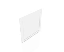 PORTHOLE SQUARE [0248 x 0248MM] CLEAR PLEXI