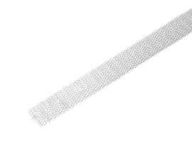 VELCRO CROCHET/MALE 16MM BLANC