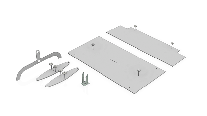 Base plates and connectors