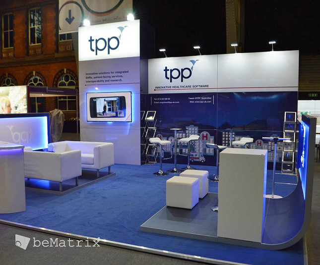 Exhibition Services for client TPP