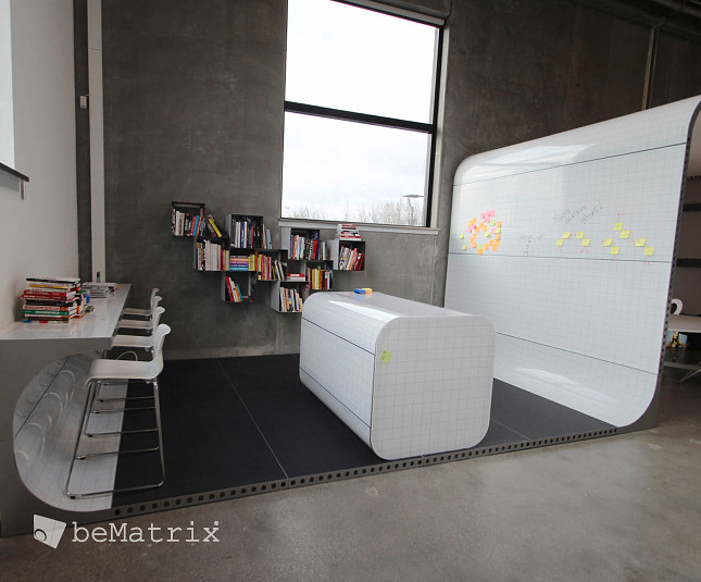 Design-Showroom aus beMatrix-Rahmen. - Foto 3