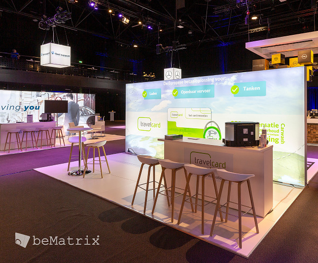 beMatrix saw the light at Fleet Mobility Live 2019 - Foto 1