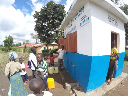 Building 3 water kiosks in Ituri (DR Congo)