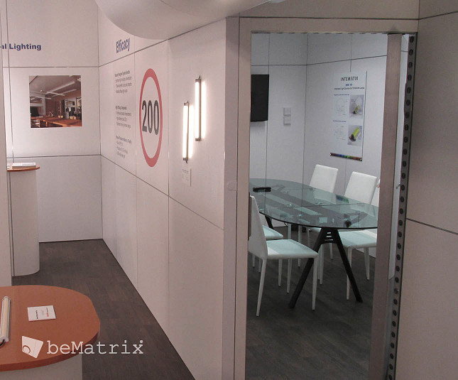 Intematix stand by Modex Exhibitions - Foto 1