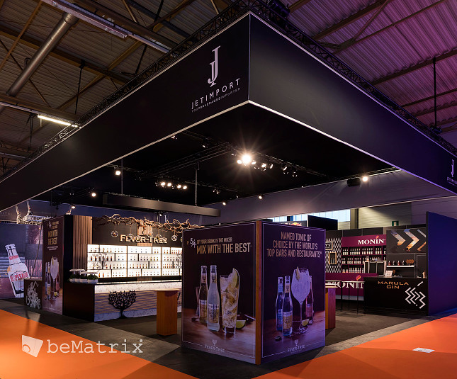 Jet Import chooses LEDskin® as eye-catcher on stand at Horeca Expo.