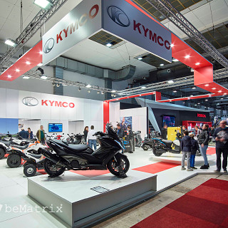 Kymco @ Brussels Motor Show 2019
