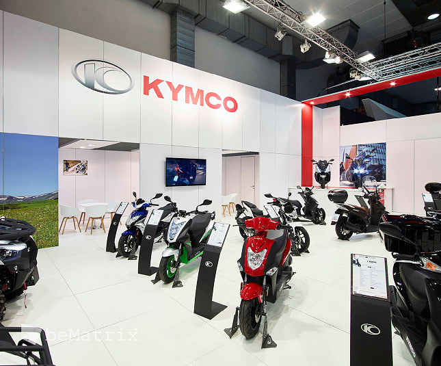 Kymco @ Brussels Motor Show 2019 - Foto 1