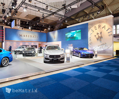 Maserati @ Brussels Motor Show 2018