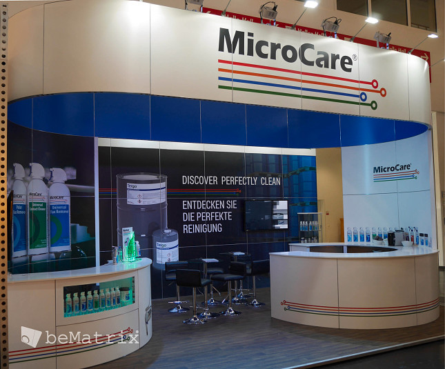 Microcare @ Productronica - Foto 2
