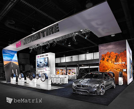 Steelhead Productions creates spectacular stand for Nexen Tire