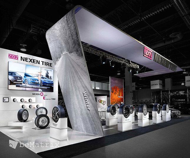 Steelhead Productions creates spectacular stand for Nexen Tire - Foto 2