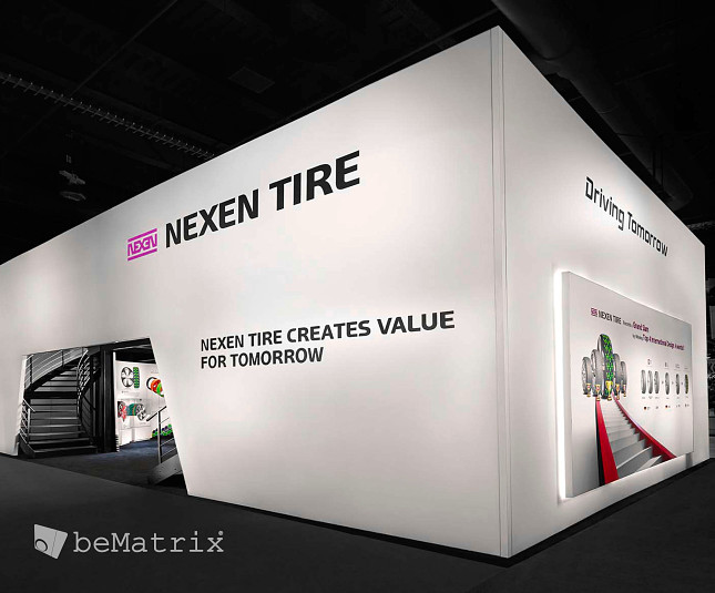 Steelhead Productions creates spectacular stand for Nexen Tire - Foto 1