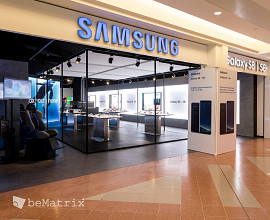 Samsung pop-up store by Tailormate