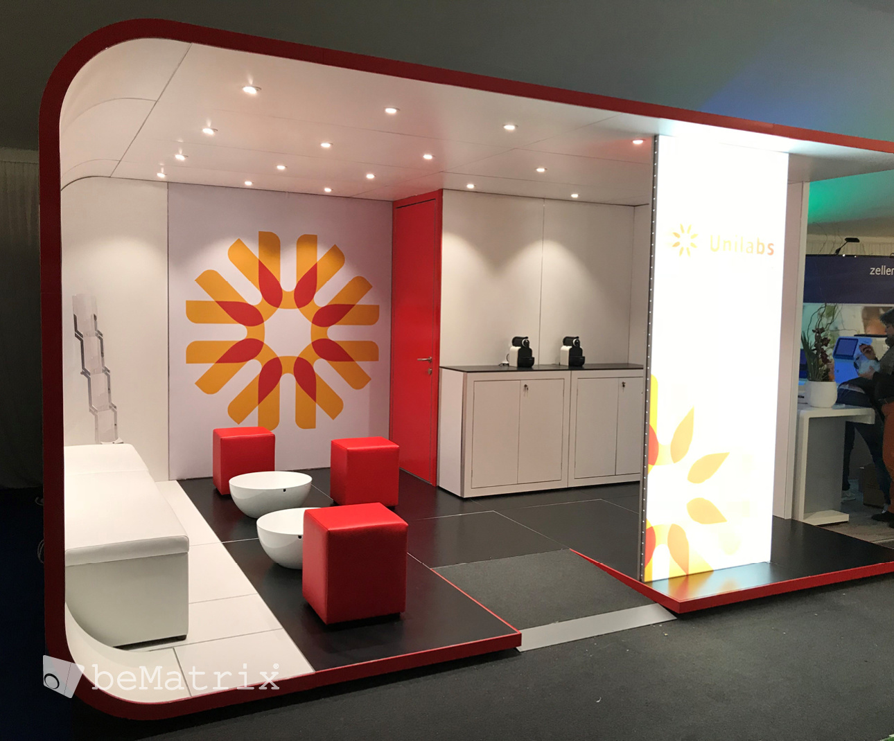 Modern Exhibition Stand Out : Casual dining exhibition on behance