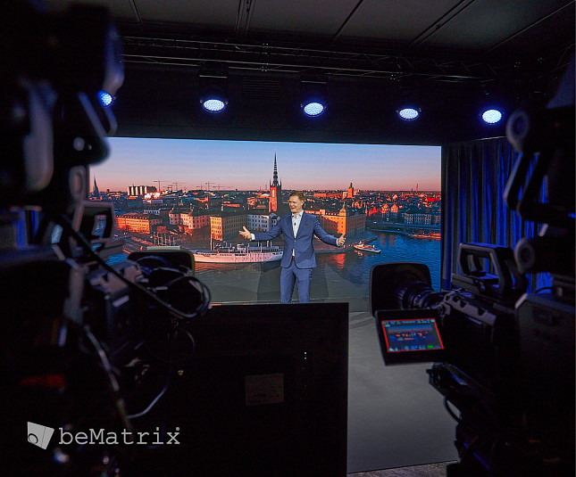 Swedish AV business Adapt goes for live streaming using beMatrix digital studio
