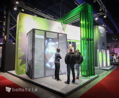 Exhibition Booth In Spanish : Bematrix: producer of modular solutions for stand building